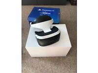 Playstation VR Headset, Camera and VR worlds