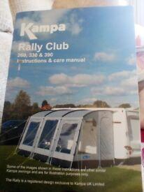 Kampala Rally Club 260 Awning