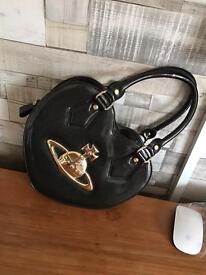 Genuine Vivienne Westwood heart shaped handbag