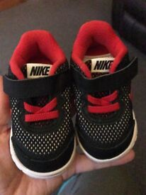 Nike size3.5 Immaculate condition. Also 12-18 months f&f shoes barely worn.