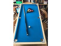 Excellent table top pool table