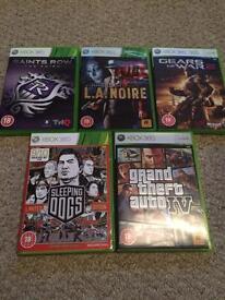 Range of Xbox 360 games