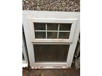 UPVC WINDOW FRAMES WITH SEALED UNITS