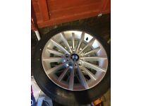 Genuine BMW wheels and winter tyres in as new condition