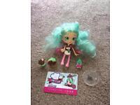 Shopkins shoppie doll peppa mint
