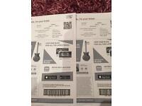 2x Nathan carter tickets for 3Arena Dublin