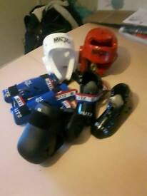 Kickboxing protective gear