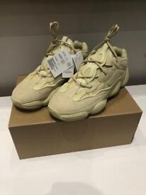 BRAND NEW Yeezy 500 size 11 uk Supermoon Yellow