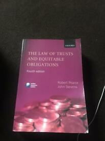 EQUITY LAW TEXT BOOK