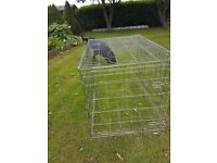Dog crate large £30