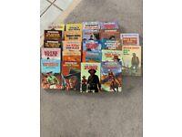 Cowboy, western 1970's books Black horse