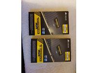 Corsair LPX ddr4 memory 4 sticks of 4GB as new