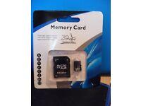 32gb MICRO SD CARD & FREE ADAPTER