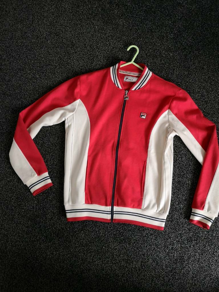 44a0237fa69a Fila vintage track top | in Wallsend, Tyne and Wear | Gumtree