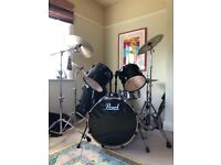 Pearl Vision Series Drum Kit (NEGOTIABLE PRICE)