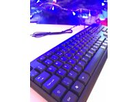 Unbranded PC Keyboard, USB, Brand new and Boxed, can post.