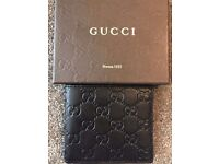 Men's Gucci Wallets with coin pouch - Black/Brown £200 ONO *RRP £270*