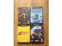 4 Nintendo GameCube games