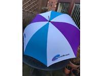 Multicoloured Golf Umbrella