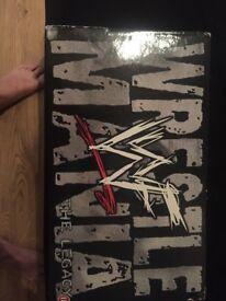 WWF Wrestle mania the legacy box set
