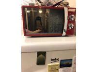 Red Russel Hobbs microwave