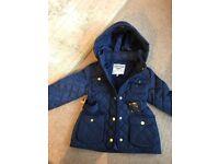 Children's coats 5-6 M&S & Zara 7 yrs