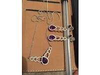 Jewellery diamond set