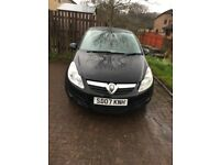 Black Vauxhall Corsa, 1 litre, with Alloy Wheels for sale.