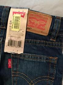 Boys Levi's Jeans. Age 2-3.