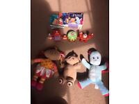 """""""in the night garden"""" toys bundles"""