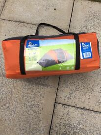4 Person Tunnel Tent and double sleeping bag