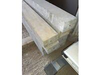 Concrete precast pre-stressed lintels