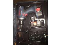 Bosch 18v GSR 18-2 Professional (2 batteries+charger)
