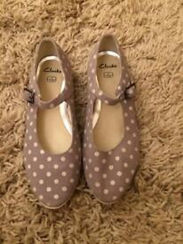 Clarks children's shoes size 1F