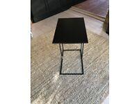 Hiba Industrial Style Side Table in Steel - La Redoute