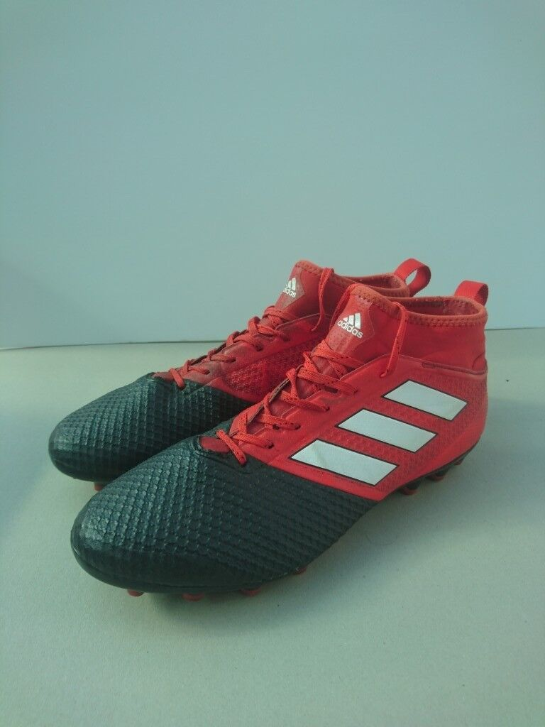 brand new e56fd 8cf49 Used (Good Condition) Adidas Ace 17.3 Primemesh AG Black Red White. Size 11  | in Guildford, Surrey | Gumtree