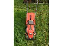 Broken lawnmower