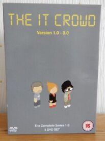 The IT Crowd Version 1.0-3.0, Complete Series 1-3 Boxed Set, Excellent