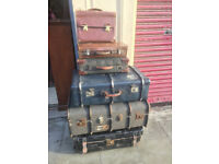 Various trunks and cases ( £25 to £100)
