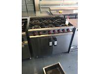 Commercial cooker catering resturant 7 burner rings hob gas cafe hotels pubs