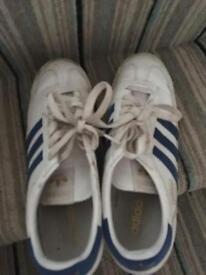 Addidas trainers worn size 8