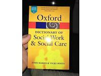 Oxford dictionary social work books