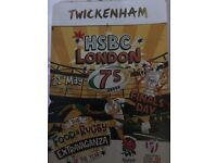 HSBC Rugby 7's FINALS DAY SUNDAY (Twickenham) - 3 tickets in a row & Car Park Pass