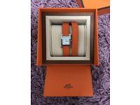 Ladies Hermes Heure H Watch - Like new!