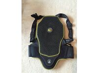 Forcefield l2k pro back protector size small