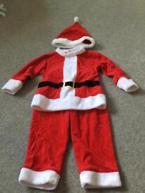 Toddler Santa suit
