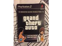 GTA twin game bundle for Ps2