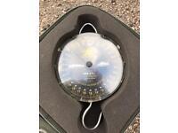 Reuben Heaton carp fishing scales & case 60lb