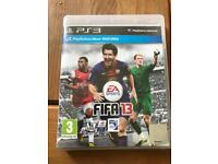 Play station FIFA 13 game cd PS3