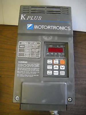 Motortronics K Plus Variable Frequency Drive 2.3 A Amp Kp1-401 Kp1401